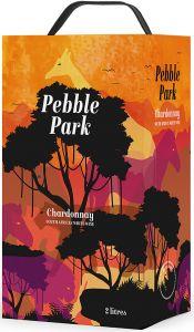 [kuva: Pebble Park Chardonnay hanapakkaus(© Alko)]