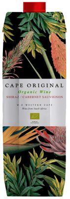[kuva: Cape Original Shiraz Cabernet Sauvignon Organic 2018 kartonkitölkki(© Alko)]