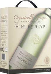 [kuva: Fleur du Cap Organic Sauvignon Blanc 2014 hanapakkaus(© Alko)]