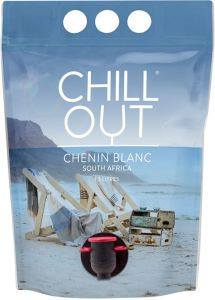 [kuva: Chill Out Chenin Blanc South Africa 2020 viinipussi(© Alko)]