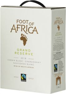 [kuva: Foot of Africa Grand Reserve 2019 hanapakkaus(© Alko)]