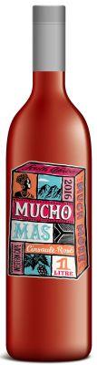 [kuva: Mucho Mas Cinsault Rosé 2016 muovipullo(© Alko)]