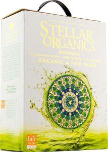 [kuva: Stellar Organics Mandala Sauvignon Blanc Chenin Blanc Chardonnay hanapakkaus(© Alko)]